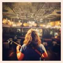 From the Varsity stage, picture by Madoo. The actual show looked not too different from this.