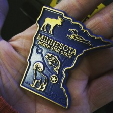 Snagged the state magnet.