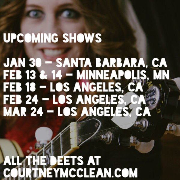 2016 Upcoming Shows