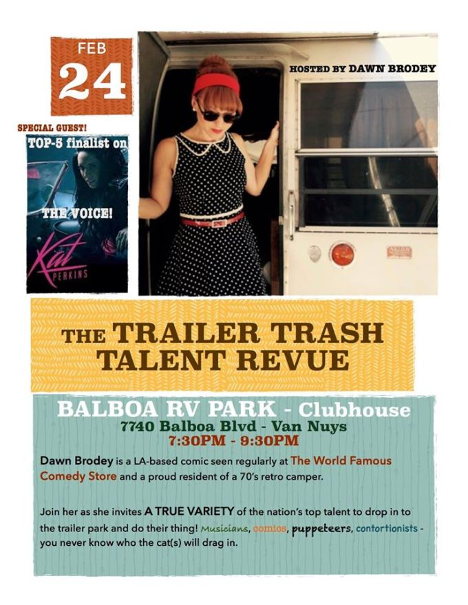 Trailer Trash Talent Revue 2016
